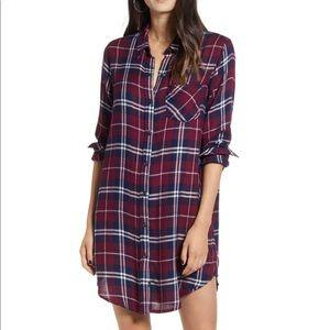 Rails Bianca Shirtdress. Flannel. Like new.
